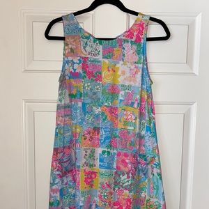 Kristen swing dress in Lilly State of Mind